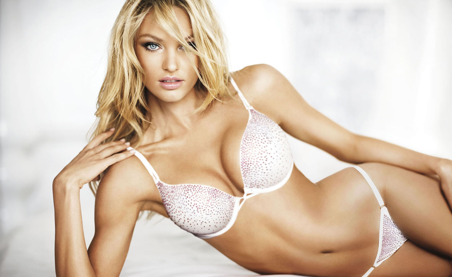 Candice Swanepoe Hot Lingerie Butt Victorias Secret Model