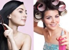 Как сделать укладку волос?